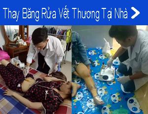 thay bang rua vet thuong tai nha